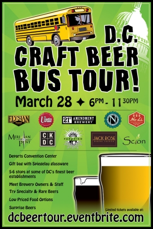 DC Craft Beer Bus Tour