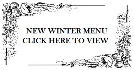 New Winter Menu
